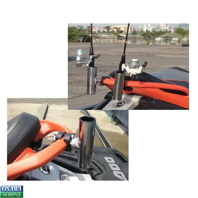 PWC クランプ式 ロッドホルダー SEA-DOO GTX・GTI・RXT 専用 |