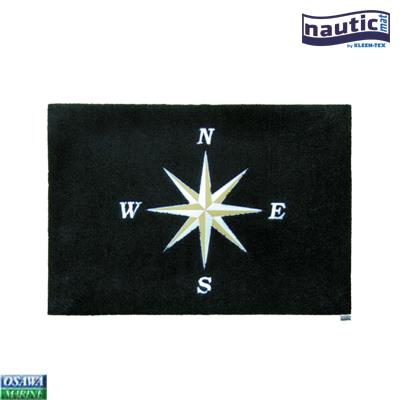 クリーンテックス nautic mat(ノーティックマット) ノーススター ブラック 60x85cm