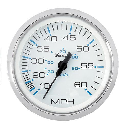 FARIA スピードメーター 60MPH SSベゼル