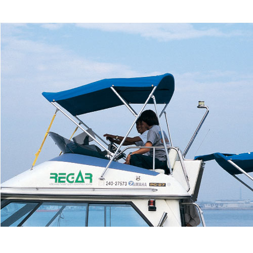 リガー・ビミニトップ/FBオーニング S-2 商品番号:34303 【ユニマットマリン・大沢マリン・ボート用品・船舶】