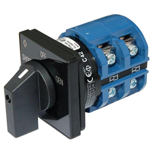 BLUE SEA 120V AC電源セレクトスイッチパネルセット8365 商品番号:34941 【ユニマットマリン・大沢マリン・ボート用品・船舶】