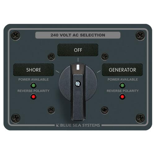 240VAC電源セレクトスイッチパネルセット8363 商品番号:34945 【ユニマットマリン・大沢マリン・ボート用品・船舶】