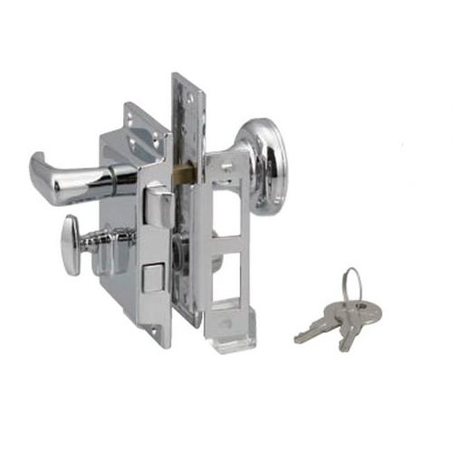 PERKO ドアロックセット ドアラッチ 0919dp0chr