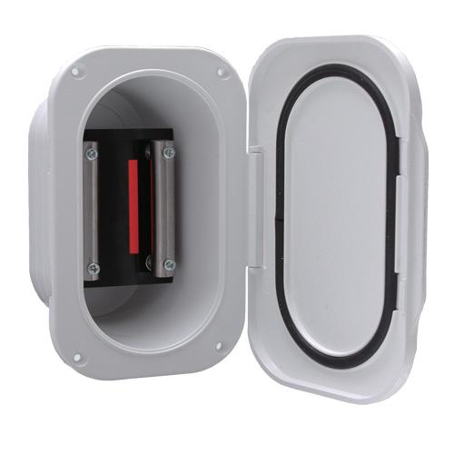 電動リール用 電源コンセントボックス 埋込式 DX 00903D デラックス