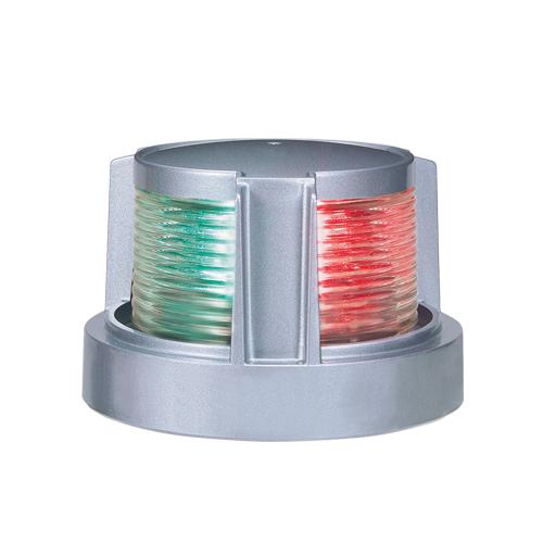第二種 両色灯 MLB-5AB2S シルバーボディー 商品番号:36222 【ユニマットマリン・大沢マリン・ボート用品・船舶】