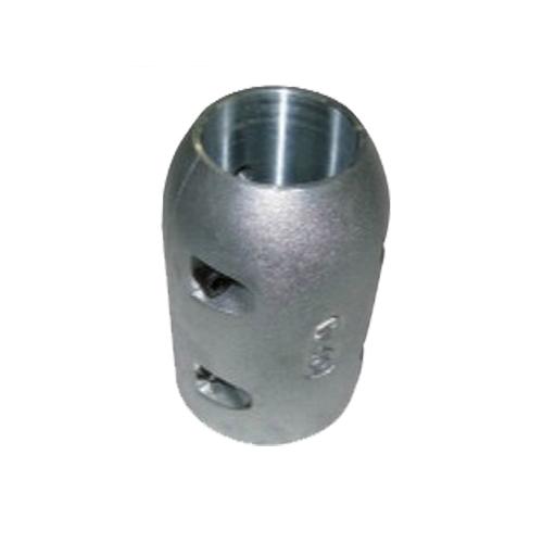 プロペラ保護亜鉛定型 割型ロング 80mm 商品番号:36695 【ユニマットマリン・大沢マリン・ボート用品・船舶】