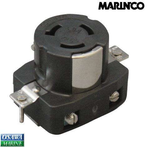マリンコ MARINCO 外部電源 陸側コンセント 6369CR