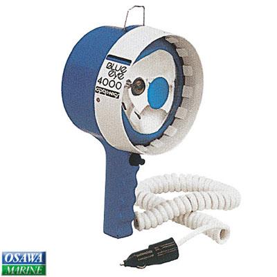 ハンドライト手持ち式 ブルーアイ 12V-170W KB-4001