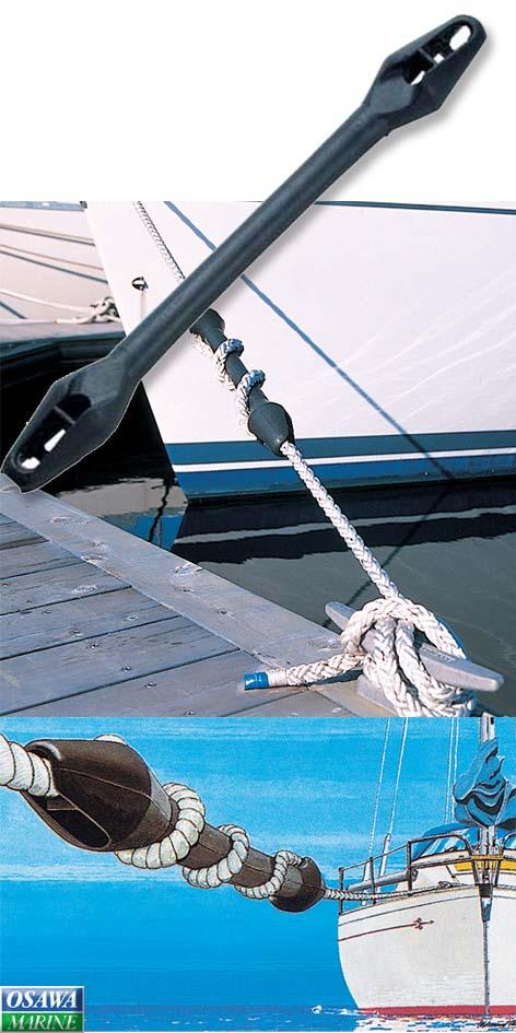 【係船用品】衝撃緩和ラバー22~24mm 商品番号:95435 【ユニマットマリン・大沢マリン・ボート用品・船舶】