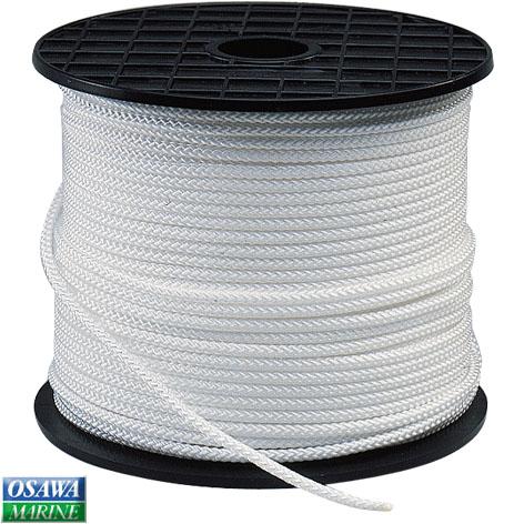 PLASTIMO 多目的ロープ ラニヤード ホワイト 4.0mm