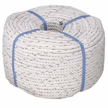 コイル ロープ 3つ打ち 直径10mmx全長100m 商品番号:22410 【ユニマットマリン・大沢マリン・ボート用品・船舶】