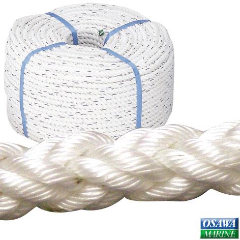 コイル ロープ 8つ打ち 直径10mmx全長200m 商品番号:23522 【ユニマットマリン・大沢マリン・ボート用品・船舶】