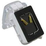 供电动绕线机使用的鳄鱼夹插座白身体商品号码:25491