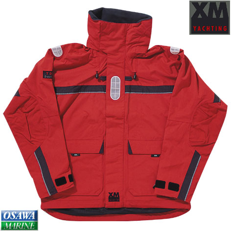 XMジャケット オフショア(OFFSHORE) <BR>レッドS 商品番号:24277S 【ユニマットマリン・大沢マリン・ボート用品・船舶】
