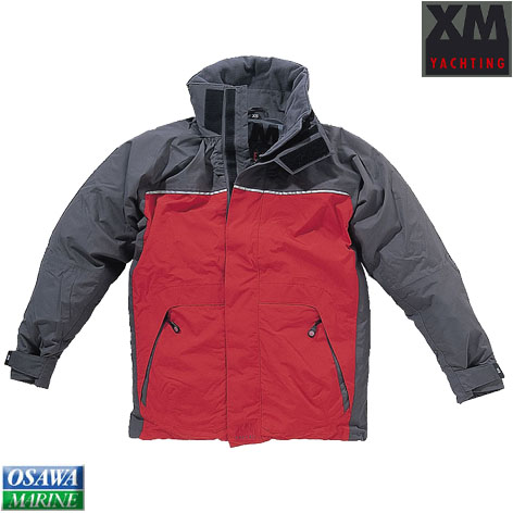 XMジャケット コースタル(COASTAL) レッドS 商品番号:25529S 【ユニマットマリン・大沢マリン・ボート用品・船舶】