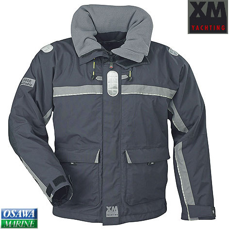 XMジャケット オフショア(OFFSHORE) グレーS 商品番号:27704S 【ユニマットマリン・大沢マリン・ボート用品・船舶】