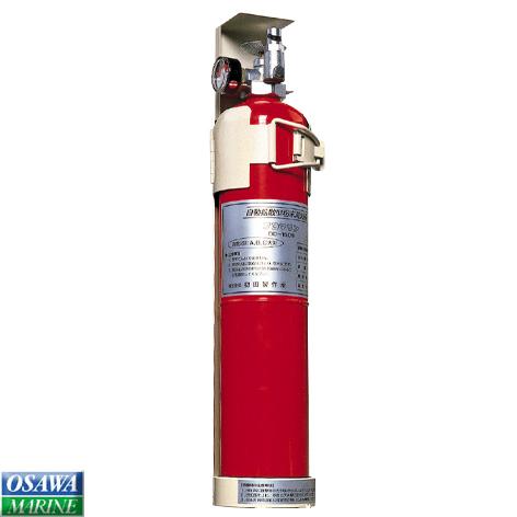 【リサイクル料込】船舶用 自動拡散型粉末(ABC)消火器 プロマリンDD-150 商品番号:91235 【ユニマットマリン・大沢マリン・ボート用品・船舶】