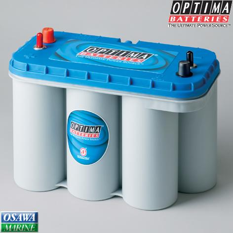 オプティマ バッテリー(OPTIMA BATTERIES) ブルートップ(BLUE TOP) BT 商品番号:31164 【ユニマットマリン・大沢マリン・ボート用品・船舶】
