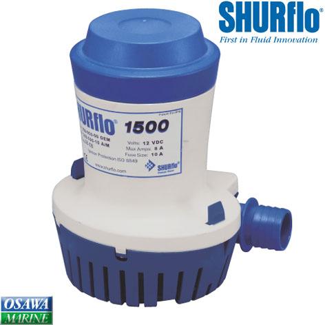 SHURFLO シャフロ 海水ポンプ/水中ポンプ 直流12V-1500GPH