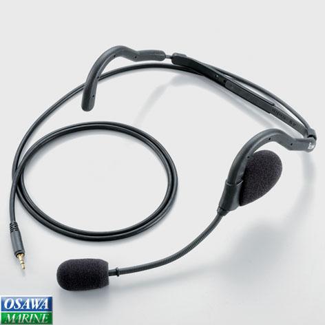 ICOM アイコム 国際VHF トランシーバー IC-M72J 携帯型 5W用 ネックアーム型ヘッドセット HS-95