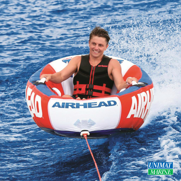 Airhead トーイングチューブ スローン 1人乗り |ボート ひとり 1人用 浮き輪 浮輪 フロート ウキワ うきわ 大人 大人用 子供 子供用 子ども おしゃれ フロートボート プール 海水浴 海 プール用品 親子 ビーチグッズ 海遊び 水遊び ビーチ 夏