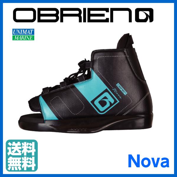 【ウェイクブーツ Nova ノウ゛ァ】26-29cm OBRIEN(オブライエン)社製 商品番号:39126 【ユニマットマリン・大沢マリン・ウェイクボード】