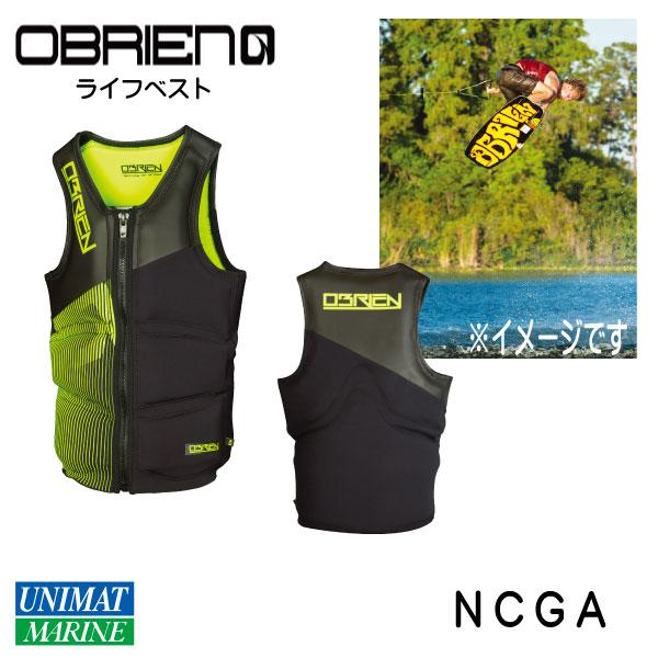 OBRIEN オブライエン ウェイクボード用 ライフベスト NCGA XLサイズ 軽量 【マリンスポーツ・ウェイクボード・ライジャケ・ライフジャケット】