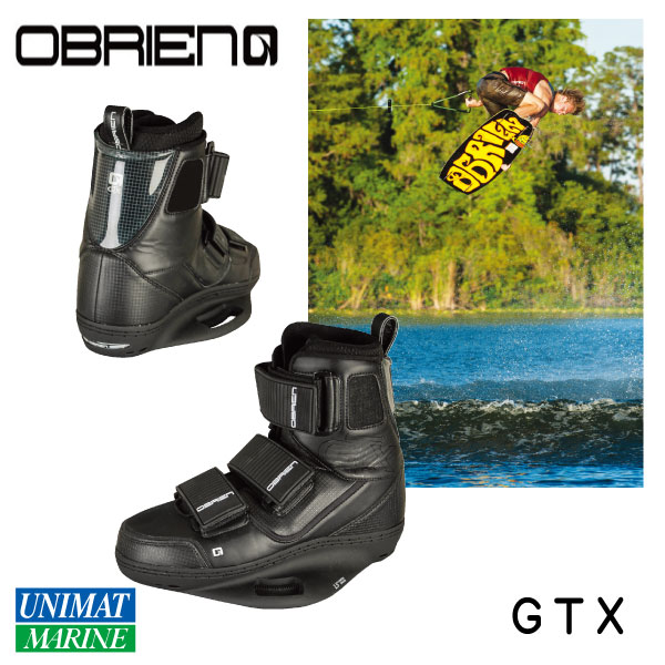大流行中! OBRIEN GTX 8-10 オブライエン ウェイクブーツ GTX 8-10 26-28cm OBRIEN 黒, グレードワン:590187e7 --- hortafacil.dominiotemporario.com