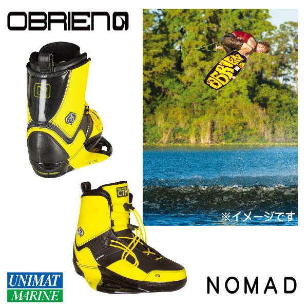 OBRIEN オブライエン ウェイクブーツ NOMAD 4-6 29-31cm 黄色 イエロー ブラック 黒