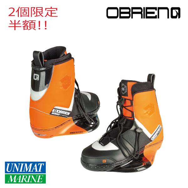 OBRIEN オブライエン ビンディング ウェイクブーツ ノマド 29-31cm オレンジ