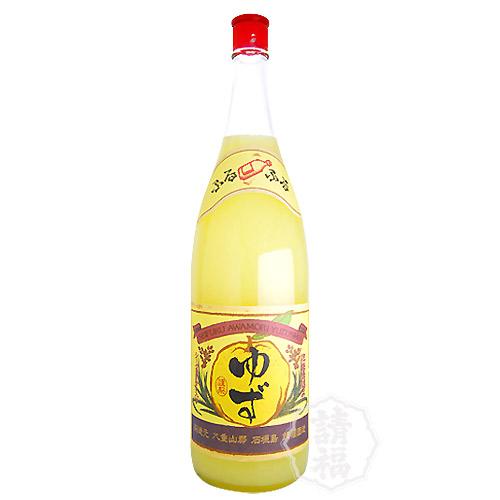 ゆず酒  リキュール ゆず シークヮーサー 請福酒造 1升ケース 1800ml 6本セット 果実酒  琉球泡盛 焼酎