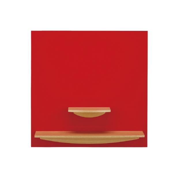 【送料無料】コンパクト仏壇 ピュール壁掛 レッド