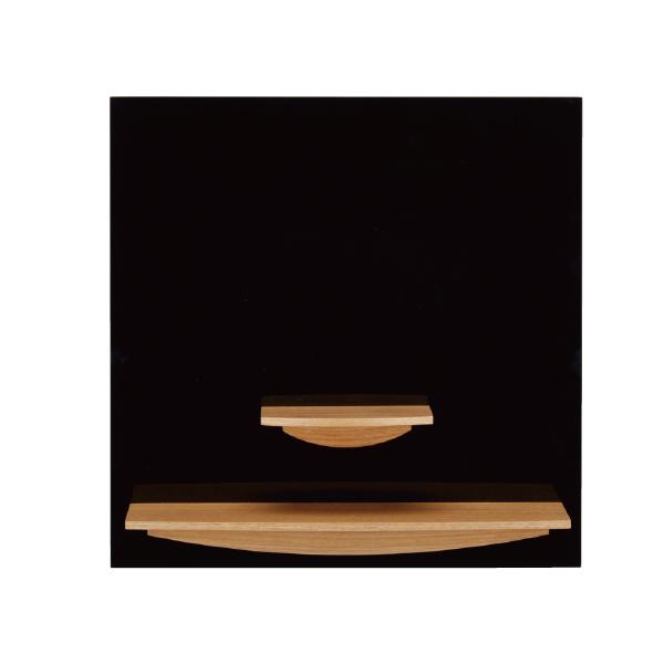 【送料無料】コンパクト仏壇 ピュール壁掛 ブラック