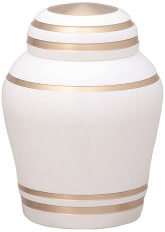ミニ骨壺 シンプルモダン ピュアホワイト