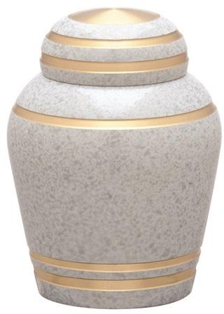 ミニ骨壺 シンプルモダン フロストホワイト