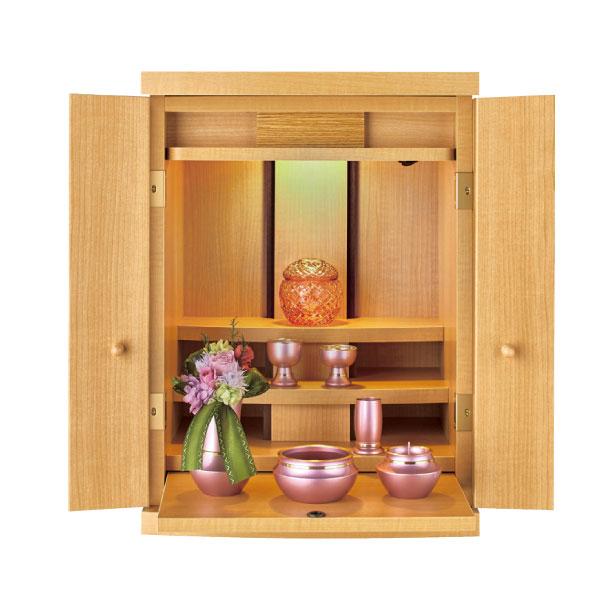 家具調仏壇 ライラック 17号 ナチュラル色