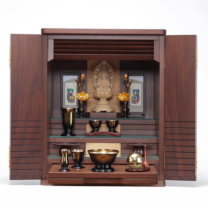 【送料無料】 家具調仏壇仏具セット マーガレット 18号