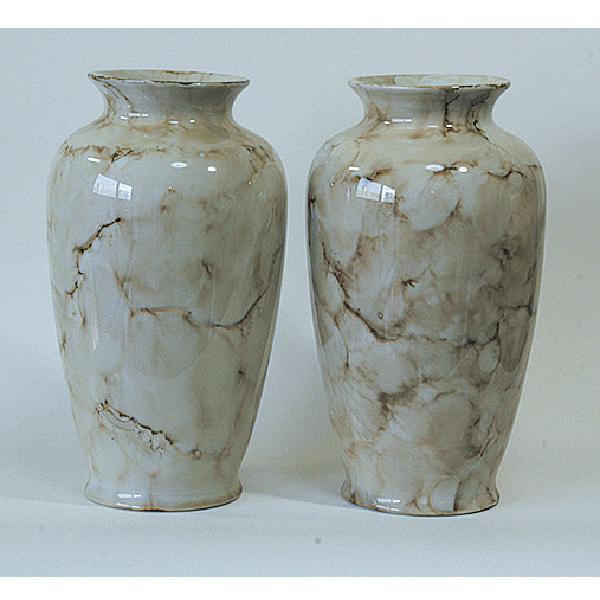花瓶 ベージュマーブル 尺寸(1本)