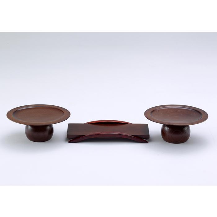 【送料無料】家具調 高月/仏器膳セット 3.5寸/4.5寸セット