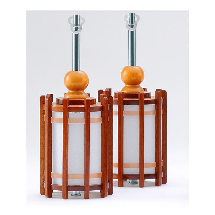 【送料無料】欅 丸型 吊り燈篭 特小