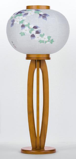 【送料無料】盆提灯 現代行灯 ブーゲンビリア 939P