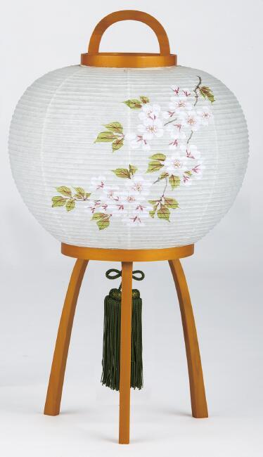 【送料無料】盆提灯 花風月 SAKURA 桜 3906