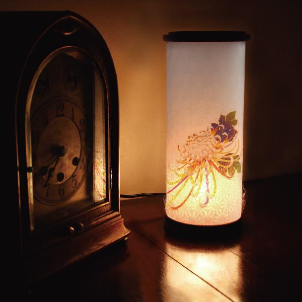 【送料無料】盆提灯 大菊