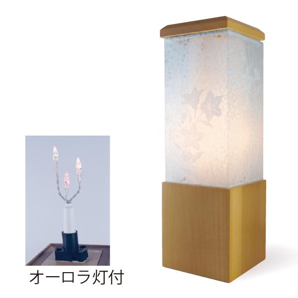 【送料無料】盆提灯 萌シリーズ 桔梗・白
