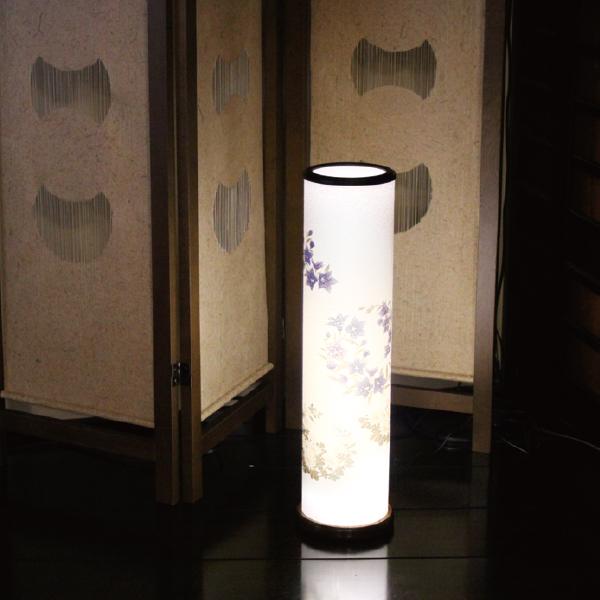 【送料無料】盆提灯 花丸に桔梗・菊