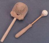 仏具 携帯木魚 2.5寸(全身24cm)