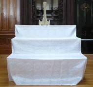 木製祭壇 後飾り壇 盆棚 供物台 後飾り壇ご先祖様3尺 白布付 送料無料