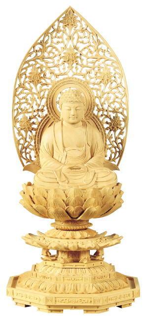 仏具 仏像 ご本尊座釈迦 2.0号