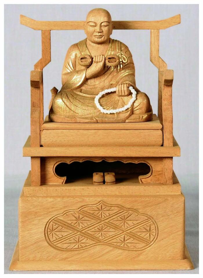 仏壇仏像 仏像 真言宗弘法大師 1.8号【sybp】【w4】