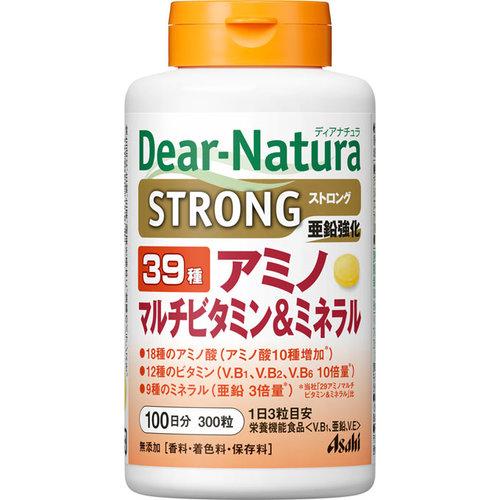 ディアナチュラ ストロング39 アミノ マルチビタミン 3980円以上送料無料 ミネラル 割り引き 300粒 驚きの値段で